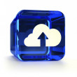 Cloud Submit Icon — Stock Photo