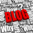 Stock Photo: Blog Questions and Answers