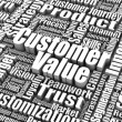 Stock Photo: Customer Value