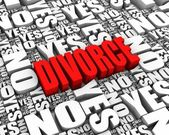 Skilsmässa beslut — Stockfoto