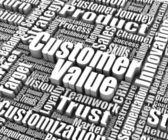 Customer Value — Stock Photo