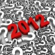 What to expect from 2012 — Stock Photo