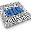 Annual Planning — Stock Photo