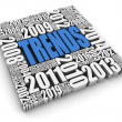 Annual Trends — Stock Photo