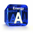 Energy Efficiency Rating A — Stock Photo