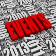 Постер, плакат: Annual Events