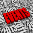 Annual Events — Stockfoto