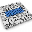 Divorce Decision — Foto de Stock