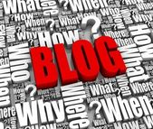 Blog Questions and Answers — Stock Photo