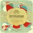 Vintage circus placard - Stock Vector