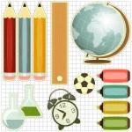 School Supplies — Stock Vector #11680240
