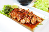 Teriyaki Grilled Chicken — Stock Photo