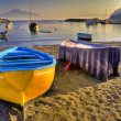 Seiano,italian fishing village, harbor - Stock Photo