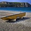 Praia a Mare (Cs) Italy : beach and boat 2 — Stock Photo