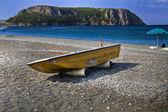 Praia a Mare (Cs) Italy : beach and boat 2 — Foto Stock