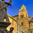 Stock Photo: Amalfi beel tower of cathedral