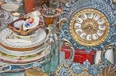 Bric-a-brac market — Stock Photo