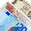 Euro crisis in Europe — Stock Photo