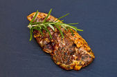 Marinated lamb chop — Stock Photo