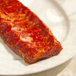 Marinated spareribs — Stock Photo