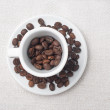 Coffee beans in a cup — Stock Photo #11397191