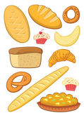Baking set — Stock Vector