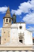 Church and clock tower of Sao Joao Baptista — Zdjęcie stockowe