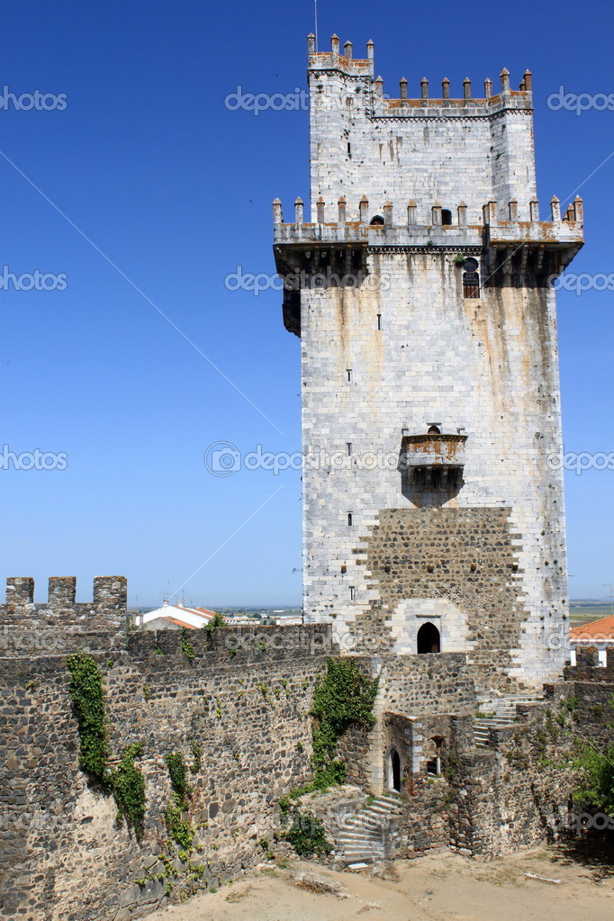 Castle of Beja, Portugal — Stock Photo #11594844