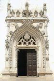 Entrance of church — Stock Photo