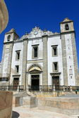 Church at Praca o Giraldo — Foto Stock