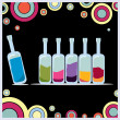 Royalty-Free Stock Vector Image: Bottles illustration