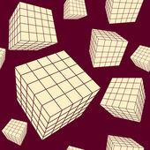 Cubes — Vector de stock