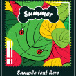 Summer season — Vector de stock #10896679