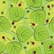 Spring seamless pattern — Stockvectorbeeld
