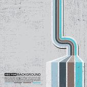 Retro grunge achtergrond - vector — Stockvector
