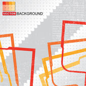 Grunge vintage background - Vector — Stock Vector