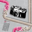 Stockvector : Retro camera