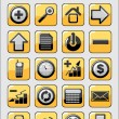 Set of 24 different icons — Stock Vector
