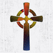 Black cross — Vector de stock