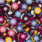 多彩枫叶-无缝模式 — 图库矢量图片