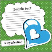 Hearts seamless — Cтоковый вектор