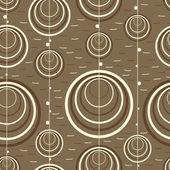 Decorative elements - seamless pattern — Wektor stockowy