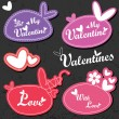 Valentine — Vector de stock #11009431