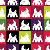 无缝的怪物 — 图库矢量图片