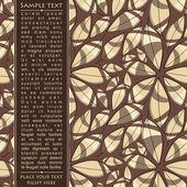 Tarjetas de plantilla para regalos y postales, vector illustration — Vector de stock