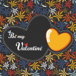 Valentine Day card — Stock Vector #11010348
