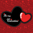 Valentine Day card — Image vectorielle
