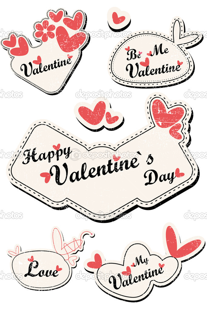 Valentine Day card — Stock Vector #11010001