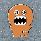 Potwór — Wektor stockowy