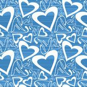 Valentine day - seamless pattern — Stock Vector